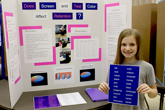 laser science fair projects
