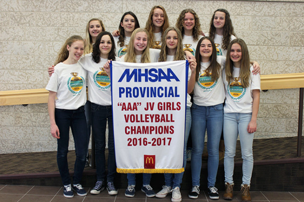 JV Girls Volleyball / Provincial Champs!